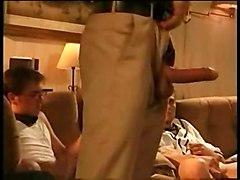 Chad Johnson With Jeremy Jordan  Derrick Mills And Ethan Ric