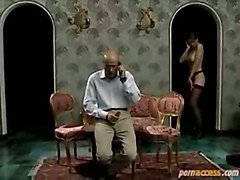 Louise Fucks By An Old Bald Man