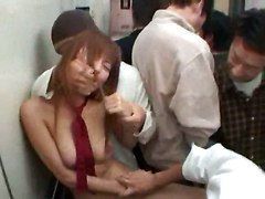 Sodomizing Asian Slut In Public Elevator