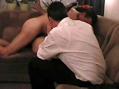Swinger Wife Slut Creampied While Husband Watching