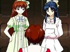 Hot Hentai Lesbian Orgy