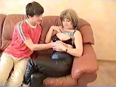 Auntie Teaches Her Nephew
