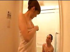 Hot Asian Handjob In Bath