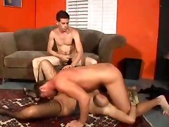 Bisexual Threesome With A Strapon Girl
