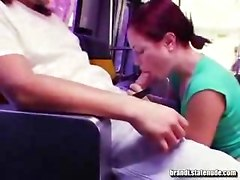 Public Blowjob On Miami Bus