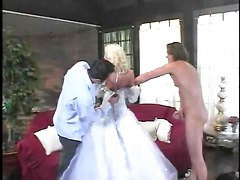 Spanked After Her Wedding