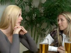 Mature Woman Seduces Younger Girl