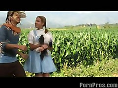 Dorothy Ass Bounces With The Witch!