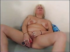 Chubby Mom Plays With Her Chubby Pussy