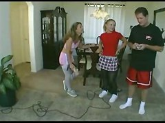 Maids Fuck Their Boss To Prove They Can Be Stripper