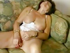 Sweet Granny Masturbatig