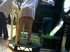 Upskirt Golf Machine