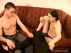 Horny Twink Gets His Tight Ass Cock Pumped