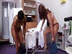 Threesomes Gyno Exam