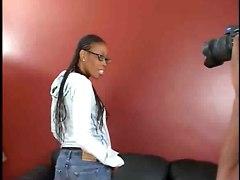 Pretty Black Babe&039;s Casting