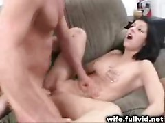 Brunette Housewife Banged