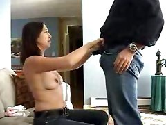 Neighborhood Whore Sucks My Cock