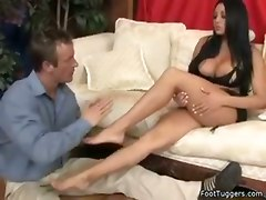 Hot And Sexy Foot Work