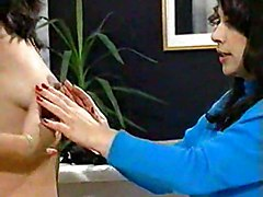 Milf Pregnant With Milk At The Doctress