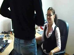 Sexy Amateur Office Slut Fucked By Bf