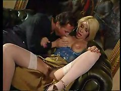 Mature Bitch Gets Anal And Pussy Stuffing With Dick