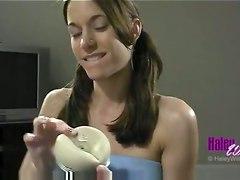 Handjob Con Vagina Artificiale