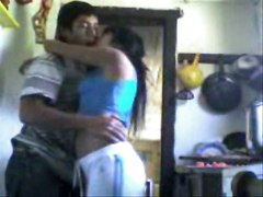 Indian Nri Students Fucking Doggy Style In Kitchen