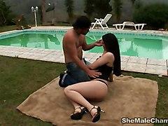 Slender Thais Outdoor Fun