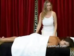 Franchesca Gets The Best Lesbian Erotic Massage Of Her Life. Her Large Breasts Get Special Attention