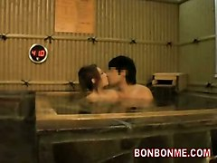 Horny Wife Cheat With Amateur In Spa Pool And Let Husband Go