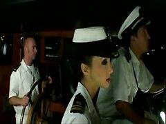 Marine Boat Orgy!