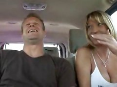 Busty Mom Fucked In The Moving Car