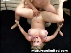 Busty  Mature Pounded Real Hard..tittyfuck