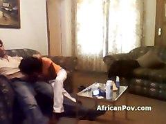 Skinny African Whore Tamia Sucks Horny Tourists Hard Dick