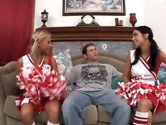Stud Tempts Bimbos Ashley Jensen & Stephanie Cane