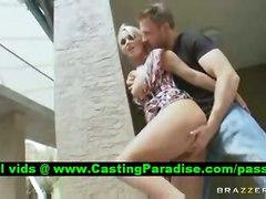 Holly Halston, Blonde Pornstar In Public