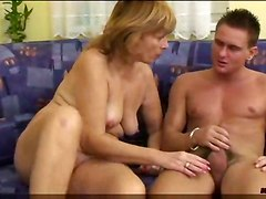 Mature Woman Enjoys A Cock