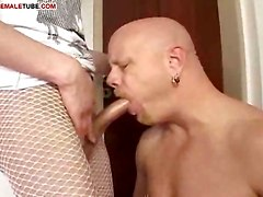Shemale In Pantyhose Stuffing
