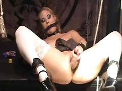 Horny Slut Gets Her Ass Flogged  And Caned