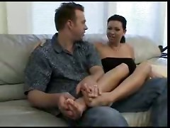Hot Chloe Dior In Feet Frenzy Fuck