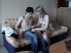 Young Couples Having Fun