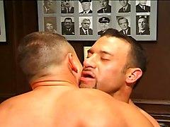 Italian Muscle Hunk Jake Gianelli & Jim Sl