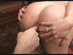 Big Ass Blonde Shemale Cindy Gets Fucked