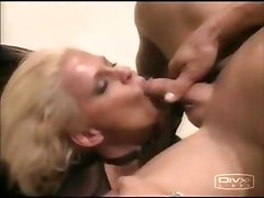 Blond Whore Recieves Cum