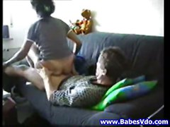 Amateur Couple Couch Sex