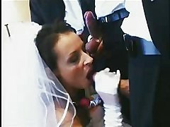 Uh Oh Bride Bangs Three Guys At Once On Wedding Night Please Comment