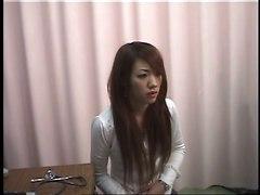 Girl Climaxes During Gynecological Examination