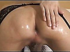 Asian Ladyboy Masturbating