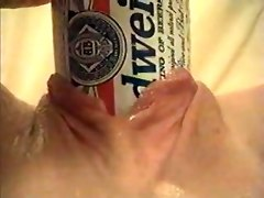 Beer Can Pussy Insertion