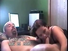 Housewife Cheats And Sucks A Big Cock
